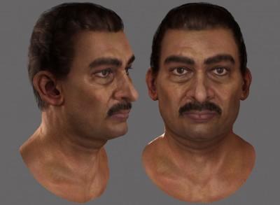 Indian male head