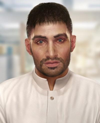 Young Arab man