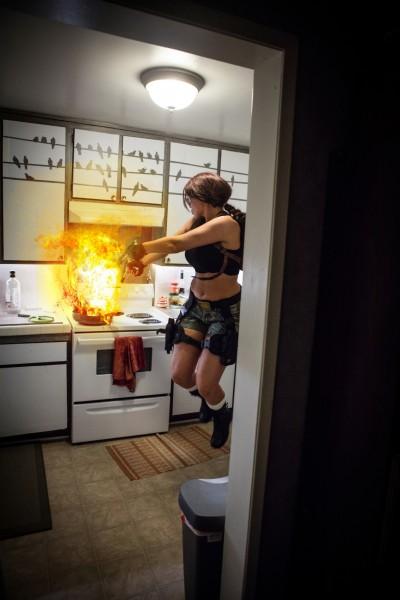 Lara Croft cosplay (Tomb Raider 6 Angel of Darkness)