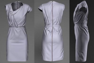 3D Roksanda Ilincic dress