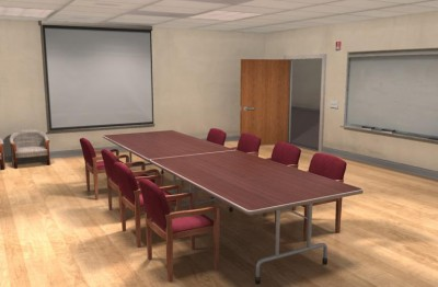 conference room 3D environment