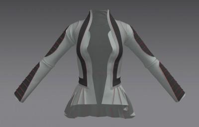 3D moto jacket