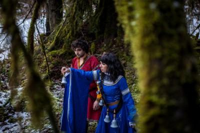 Touchstone & Sabriel cosplay