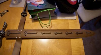 Sabriel's sword belt