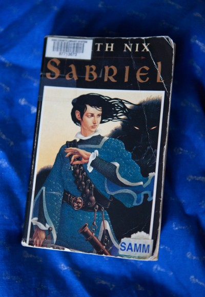Sabriel by Garth Nix book cover